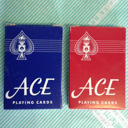 【トランプ】PLAING CARDS ACE 2色