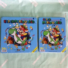 【色鉛筆】SUPER MARIO WORLD
